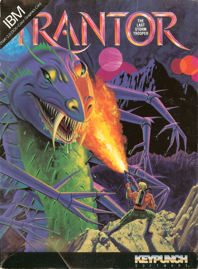 Trantor the Last Stormtrooper DOS Front Cover