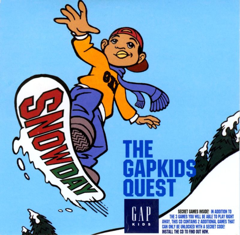 Snow Day: The GapKids Quest Macintosh Front Cover