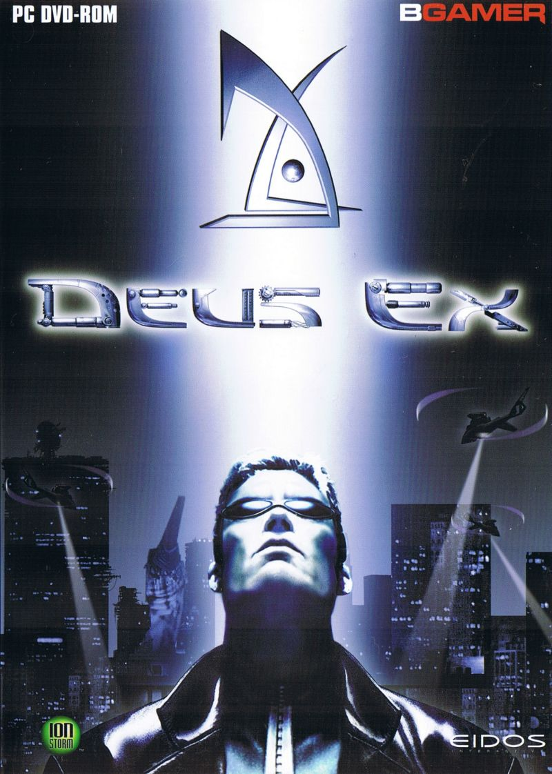 Deus Ex Game Of The Year Edition 2001 Windows Box Cover