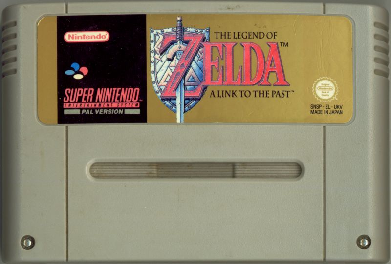 The Legend of Zelda: A Link to the Past SNES Media