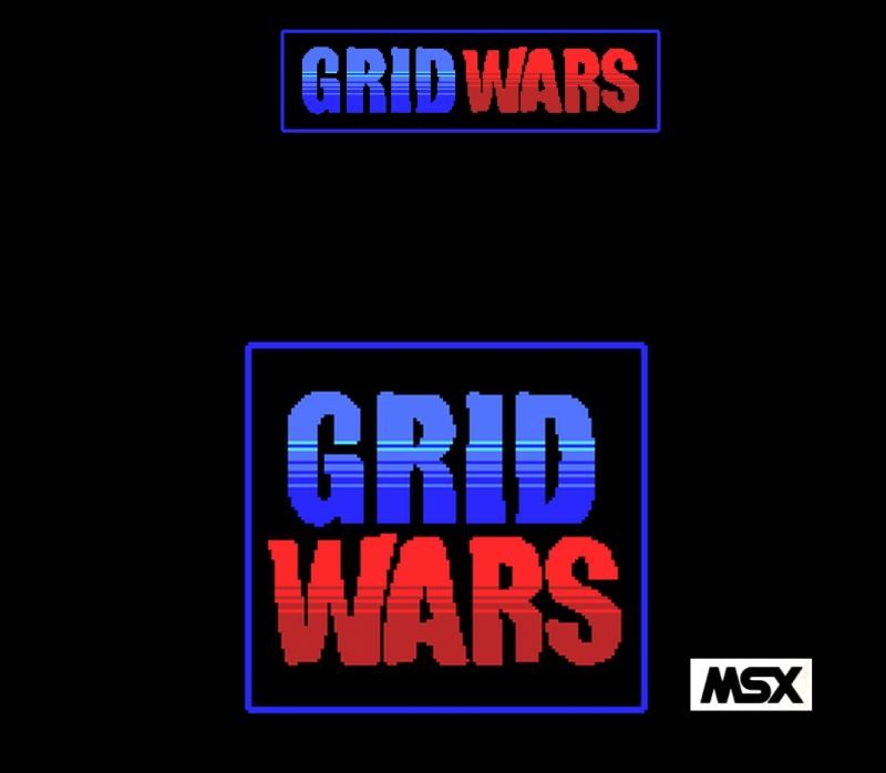 Grid Wars MSX Front Cover