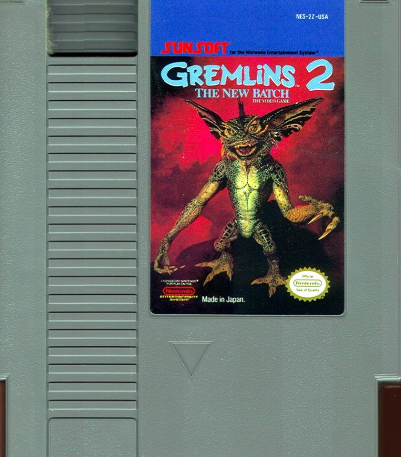 Gremlins 2: The New Batch NES Media