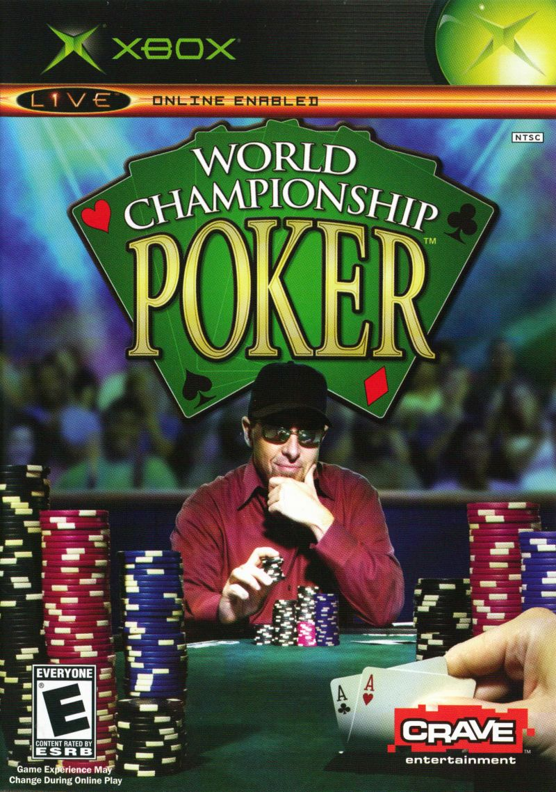 World Championship Poker Xbox Front Cover