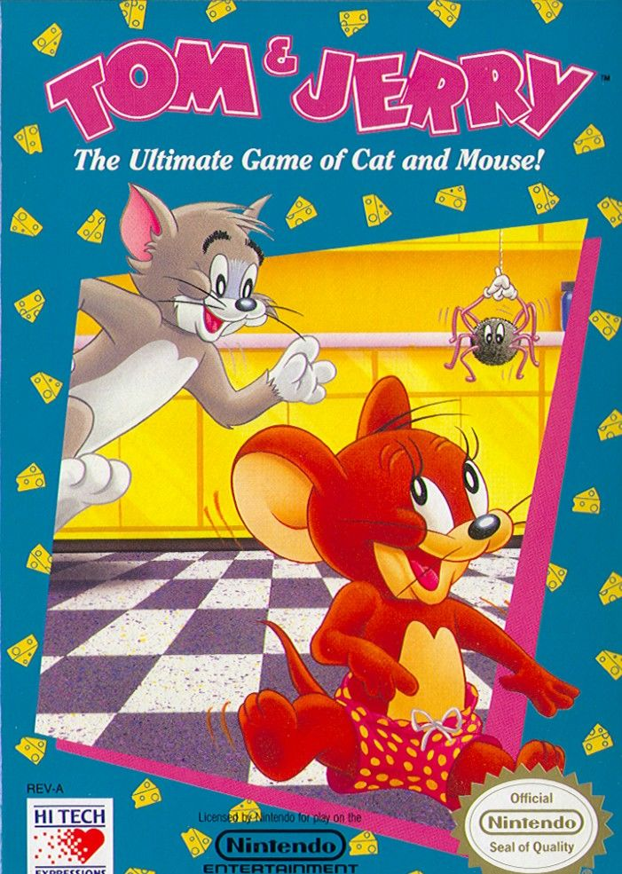 Tom & Jerry NES Front Cover