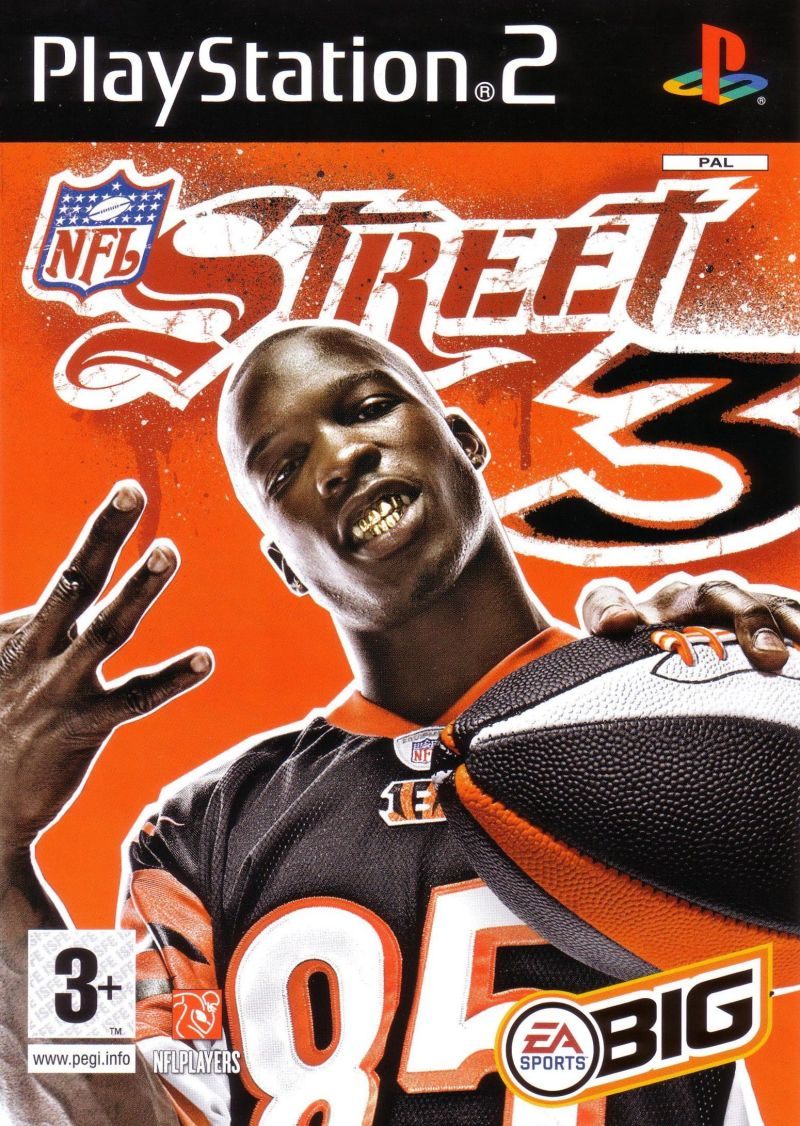 NFL Street 3 PlayStation 2 Front Cover