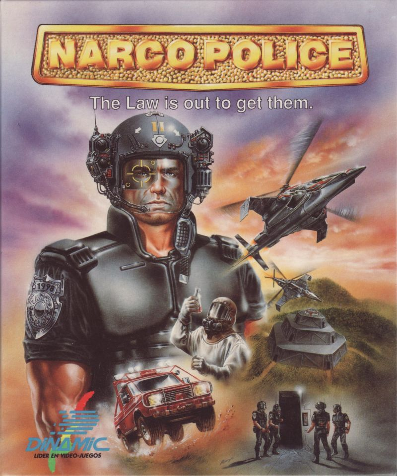 Narco Police DOS Front Cover