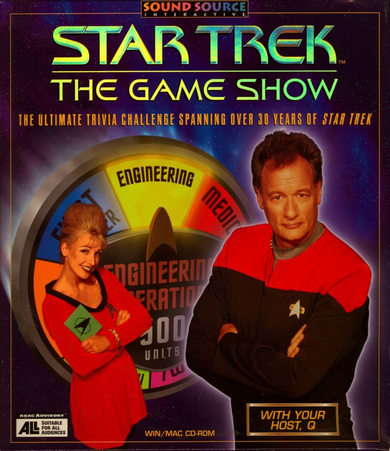 Star Trek: The Game Show Macintosh Front Cover