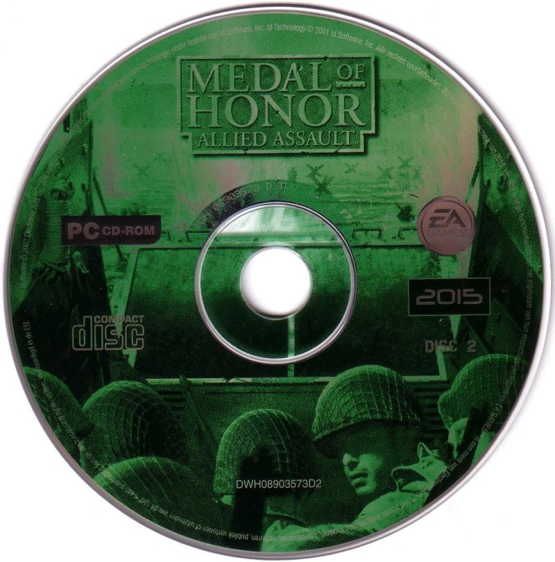 Medal of Honor: Allied Assault Windows Media Disc 2/2