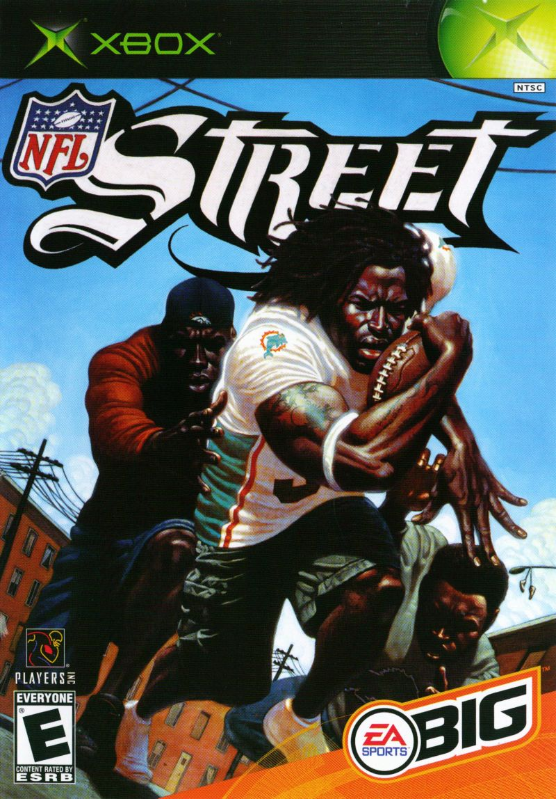 NFL Street Xbox Front Cover