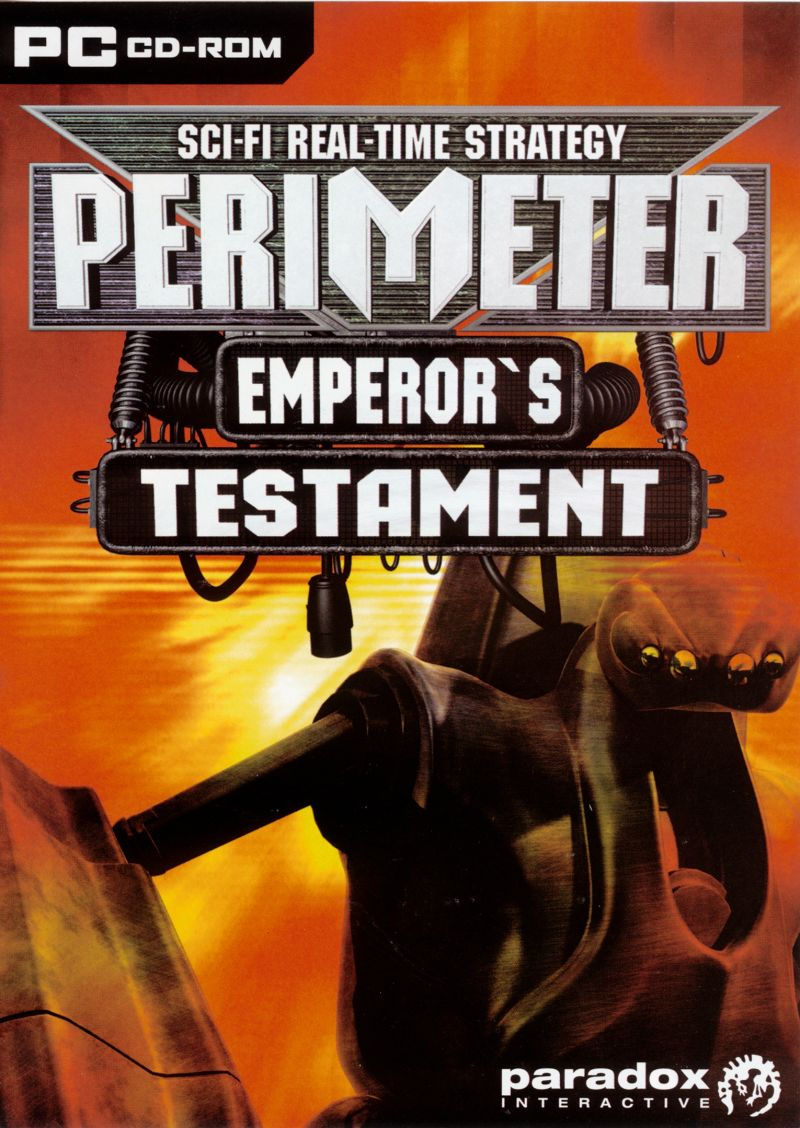 Perimeter: Emperor's Testament Windows Front Cover