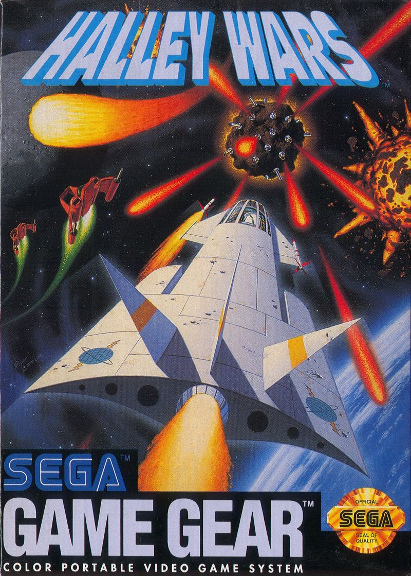Halley Wars Game Gear Front Cover