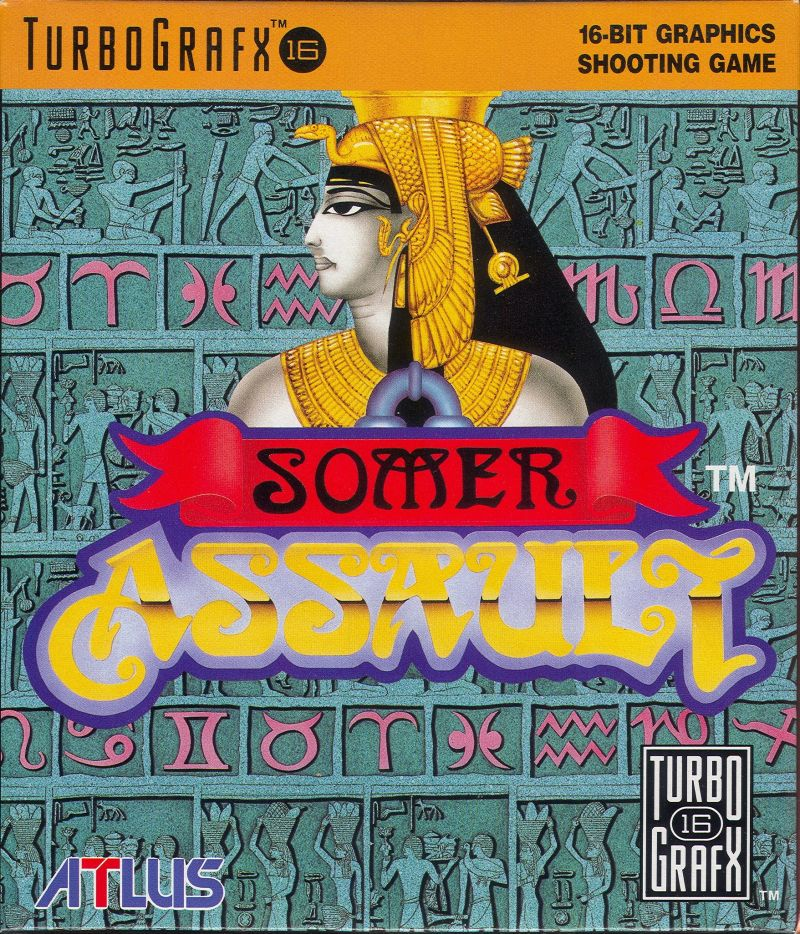 Somer Assault TurboGrafx-16 Front Cover