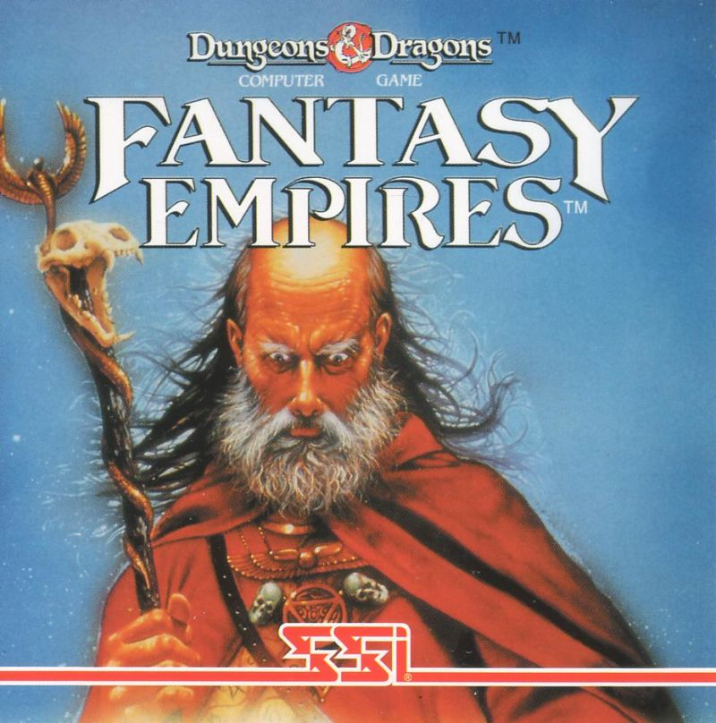 Fantasy Empires DOS Other Jewel Case - Front