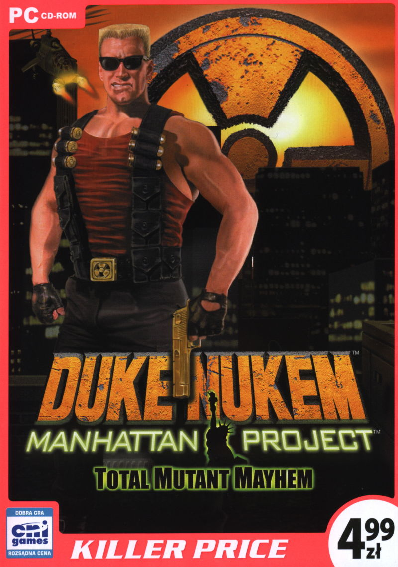 Duke Nukem: Manhattan Project Windows Front Cover