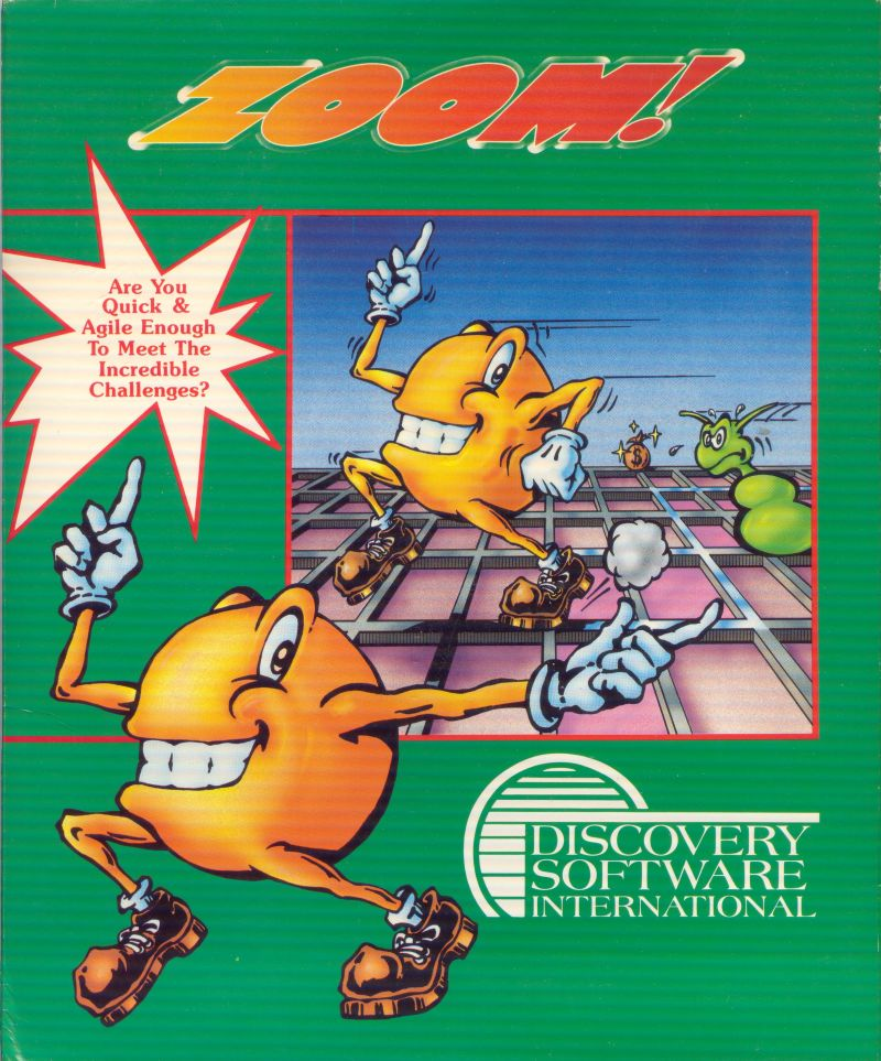 Zoom! Amiga Front Cover