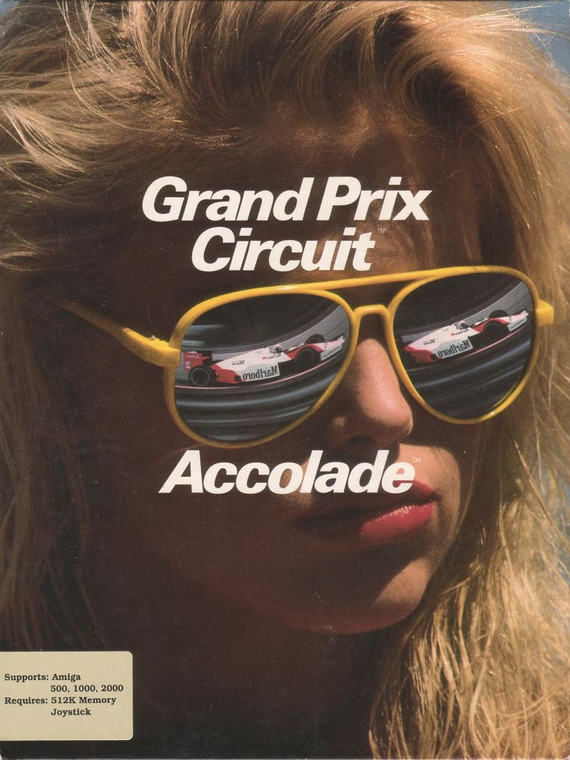 Grand Prix Circuit Amiga Front Cover