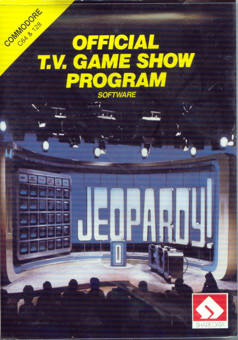 Jeopardy! Commodore 64 Front Cover