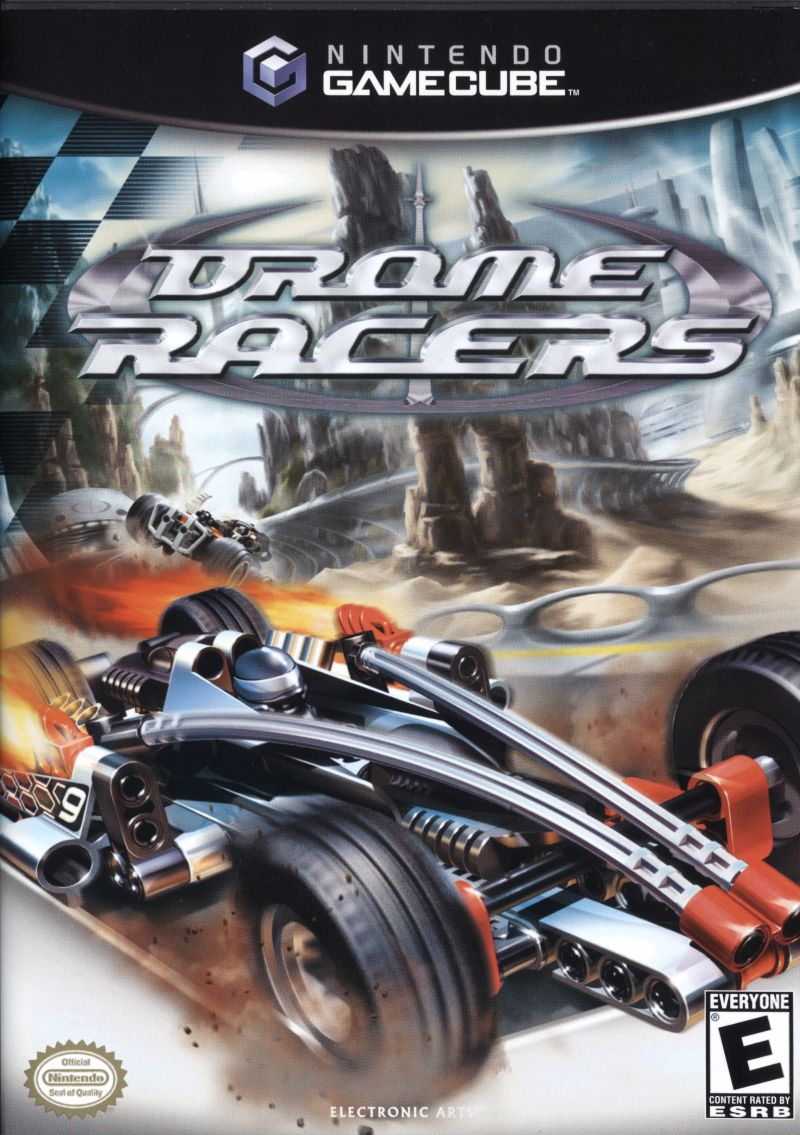 Drome Racers GameCube Front Cover
