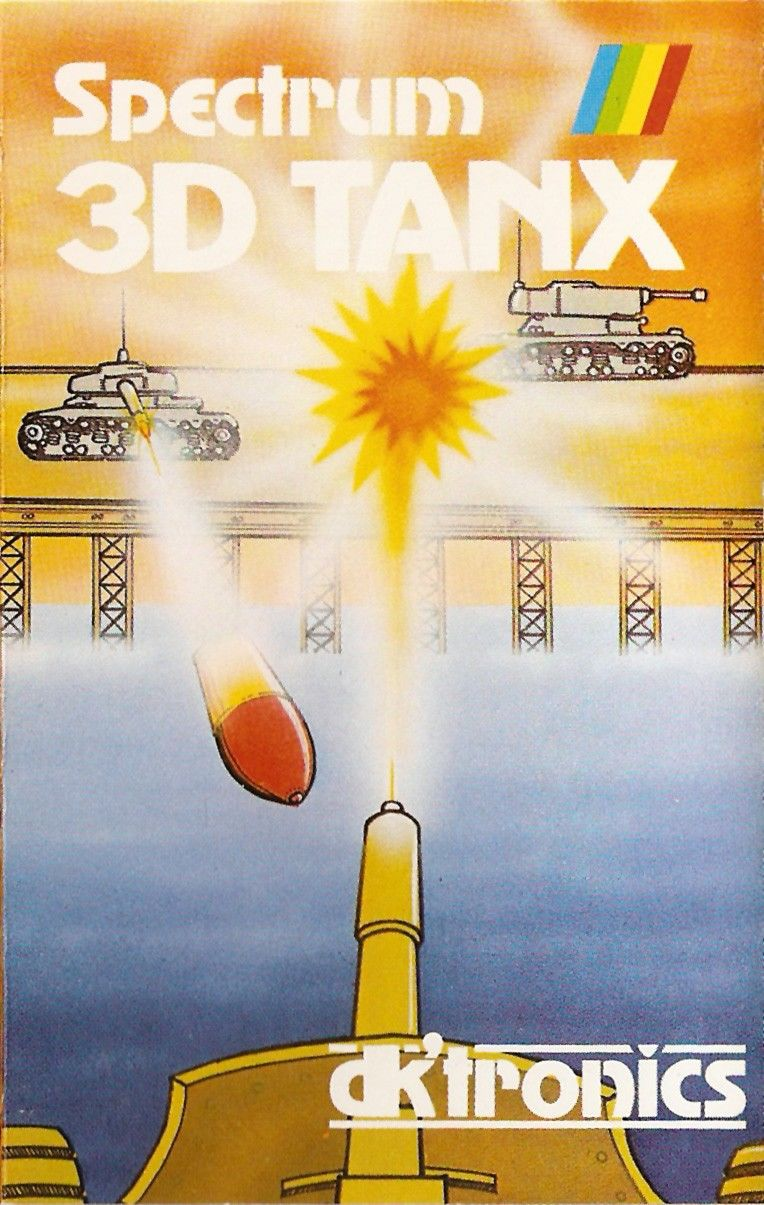 3D Tanx ZX Spectrum Front Cover