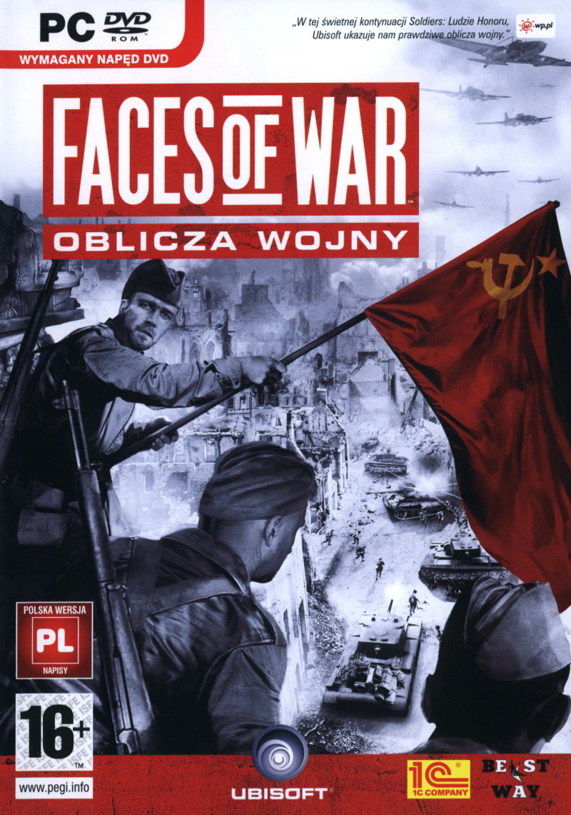 Faces of War Windows Other Keep Case - Front