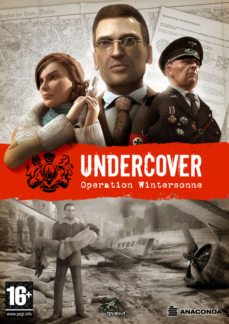 Undercover: Operation Wintersun Windows Front Cover