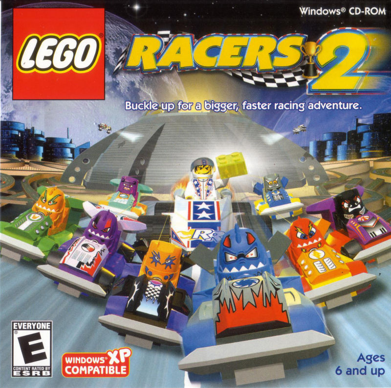 LEGO Racers 2 Windows Front Cover