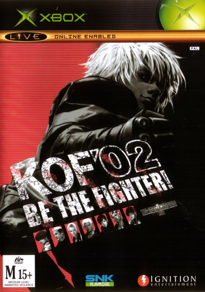 The King of Fighters 2002: Challenge to Ultimate Battle Xbox Front Cover