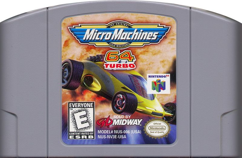 Micro Machines 64 Turbo Nintendo 64 Media