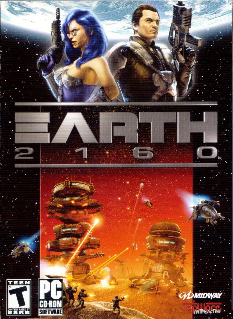 Earth 2160 Gold Edition Deutsche  Texte, Untertitel, Menüs, Videos, Stimmen / Sprachausgabe Cover