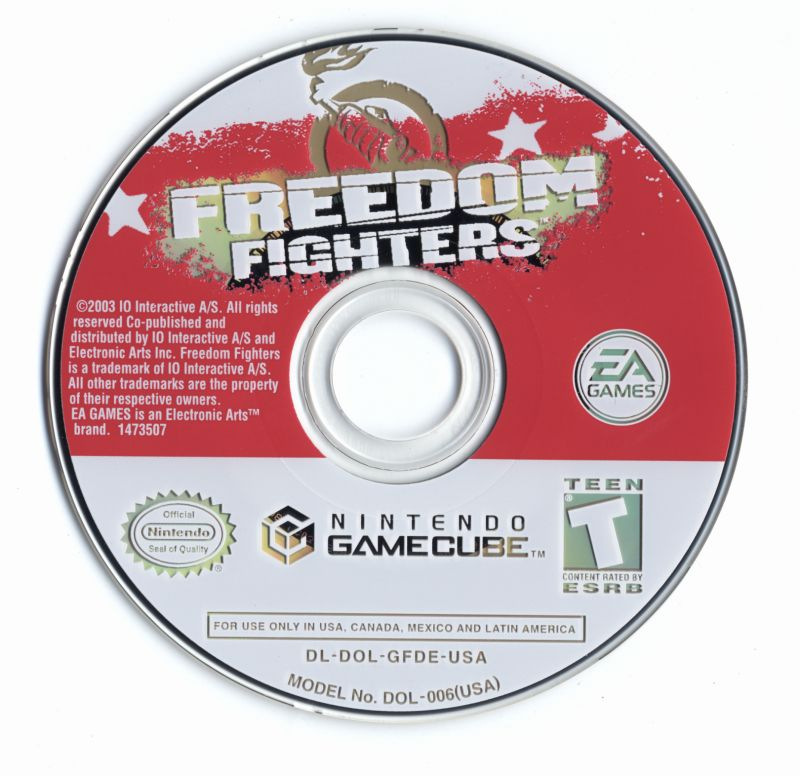 Freedom Fighters GameCube Media