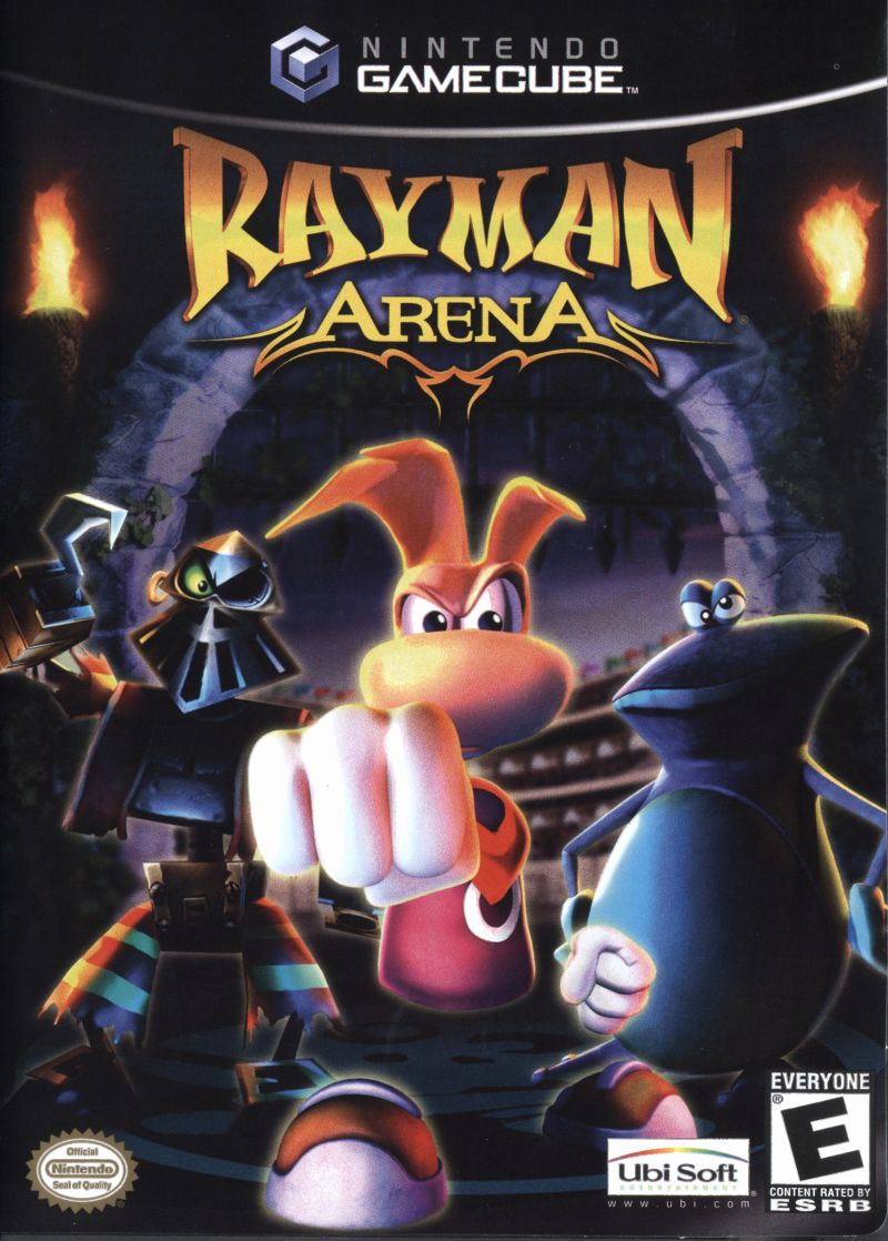 Rayman Arena GameCube Front Cover