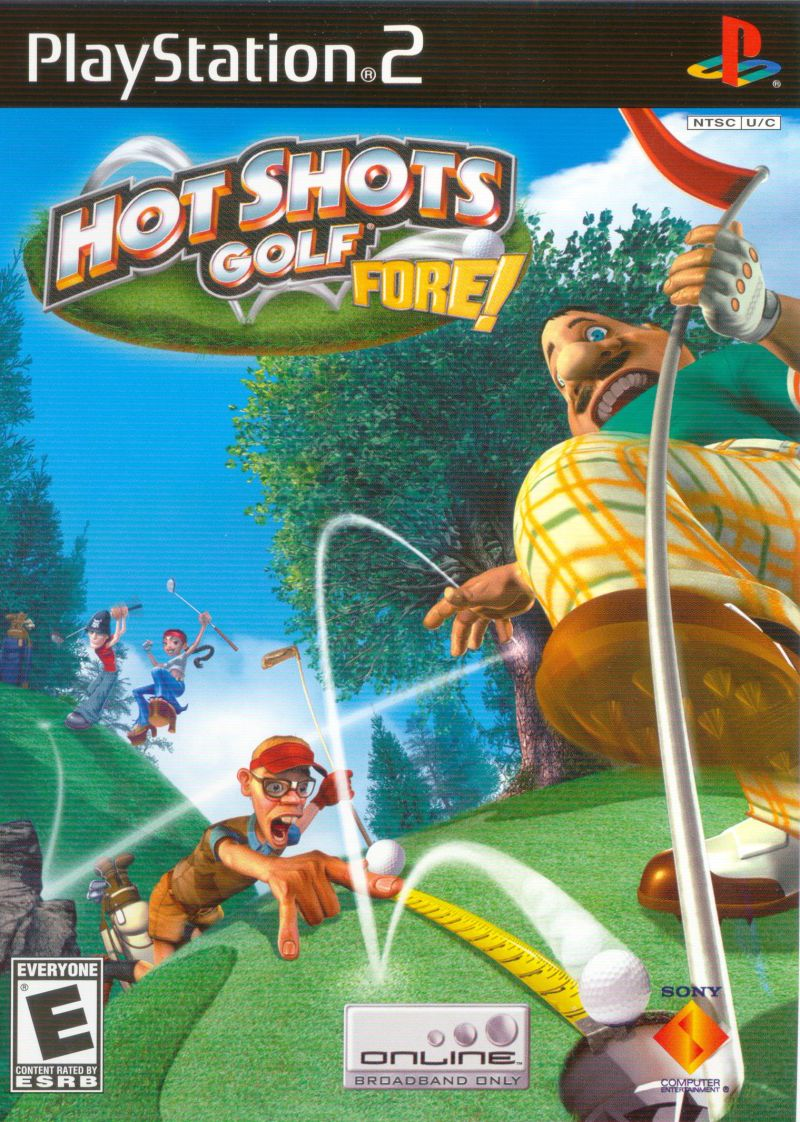 Hot Shots Golf Fore! PlayStation 2 Front Cover