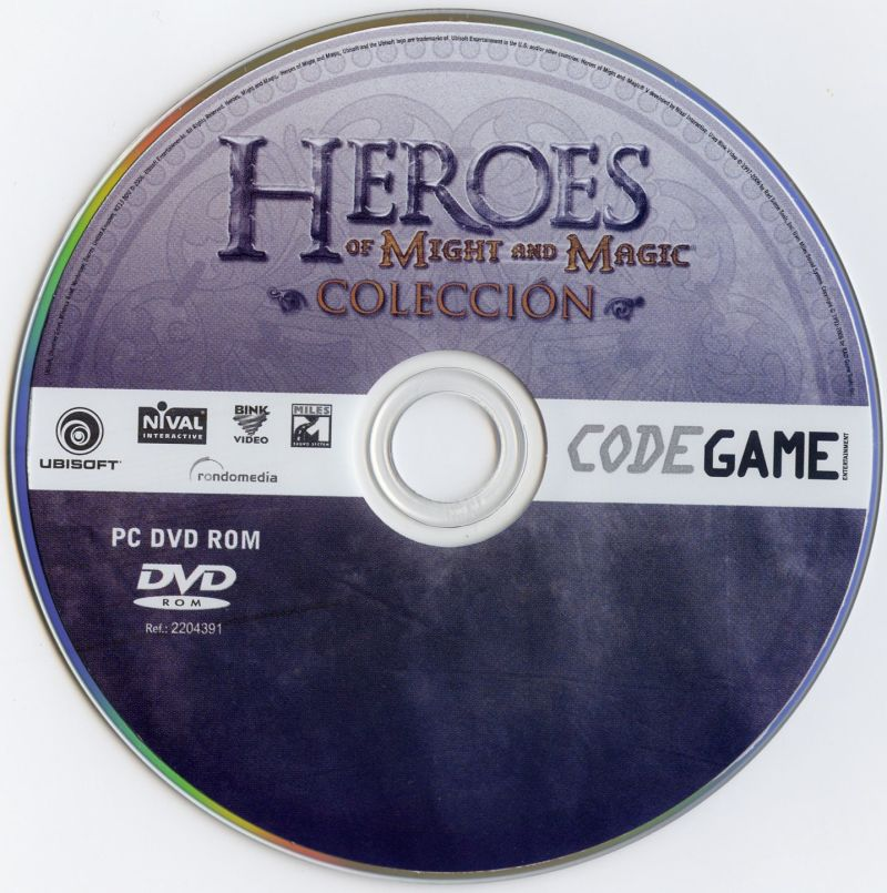 Heroes of Might and Magic: Colección Windows Media