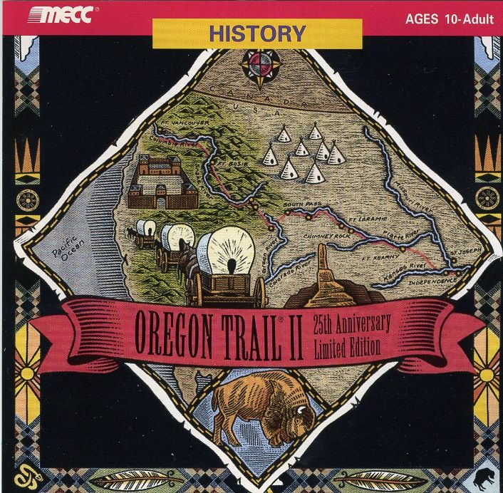 Oregon Trail II: 25th Anniversary Limited Edition Macintosh Other Jewel Case - Front