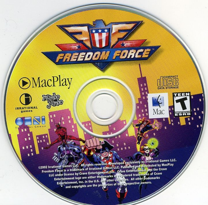 Freedom Force Macintosh Media