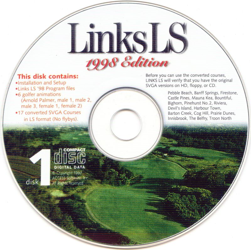 Links LS 1998 Edition Windows Media 1