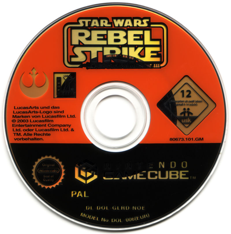 Star Wars: Rogue Squadron III - Rebel Strike GameCube Media