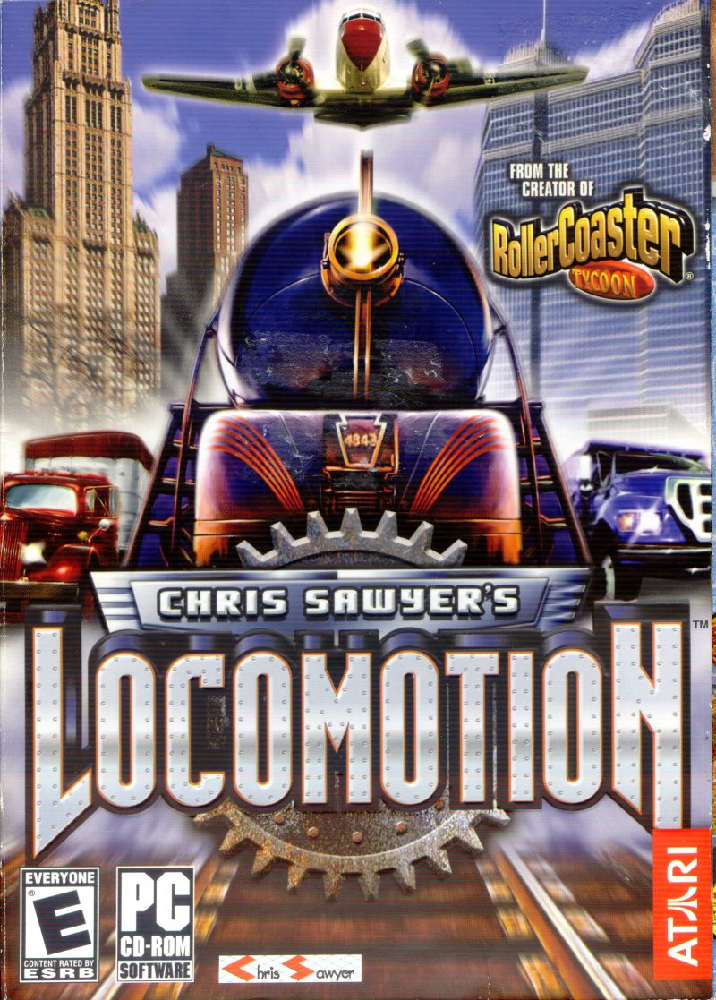 Chris Sawyer's Locomotion Windows Front Cover