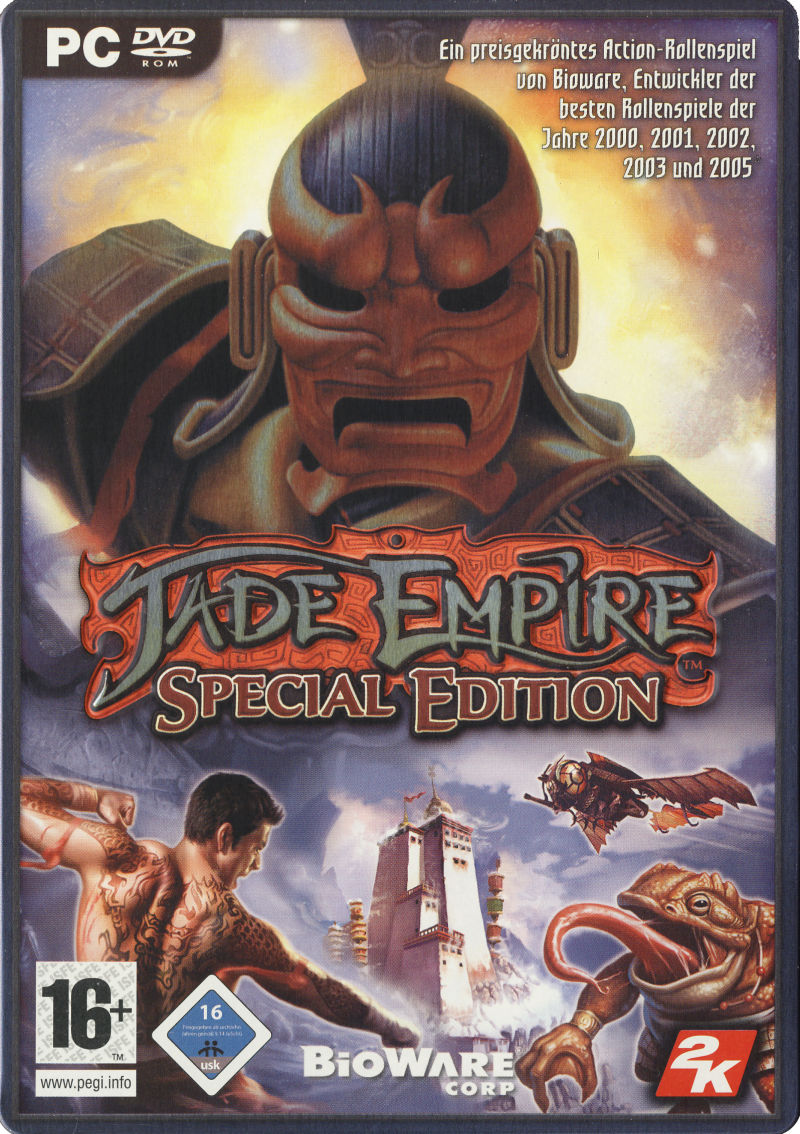 Jade Empire (Special Edition) Windows Front Cover