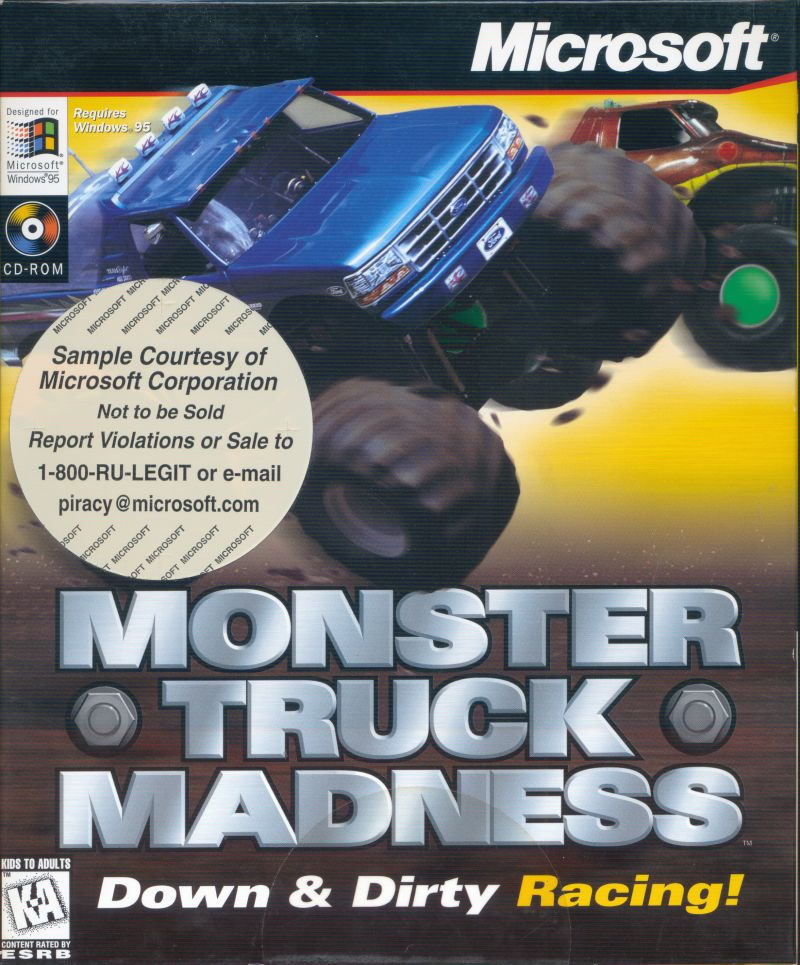 Monster Truck Madness Windows Front Cover