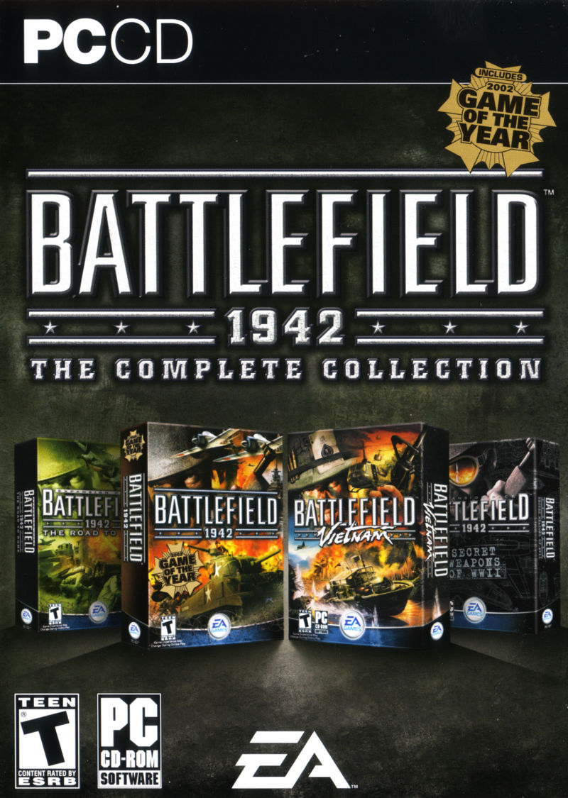 Battlefield 1942: The Complete Collection Windows Front Cover