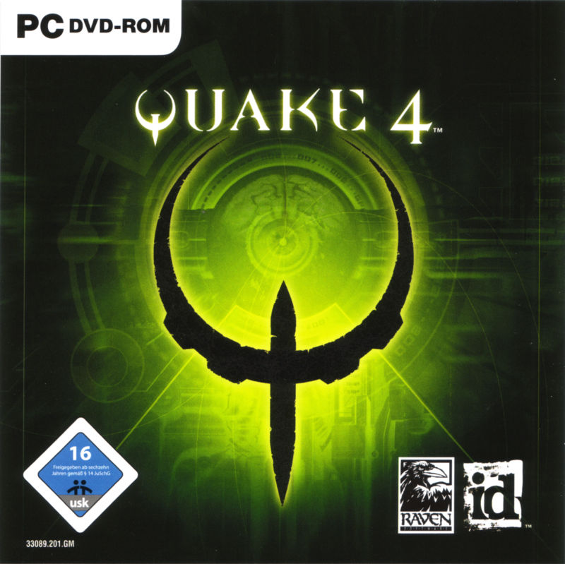 Quake 4 Windows Other Jewel Case - Front