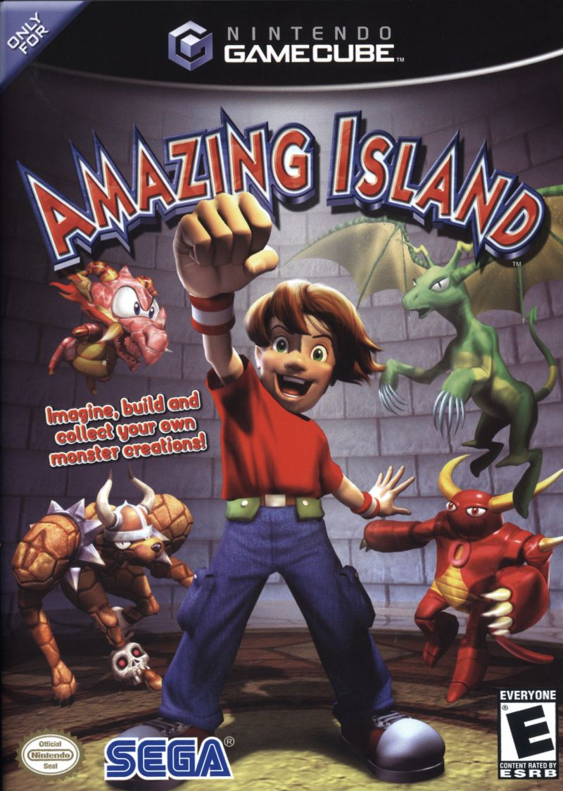 Amazing Island GameCube Front Cover