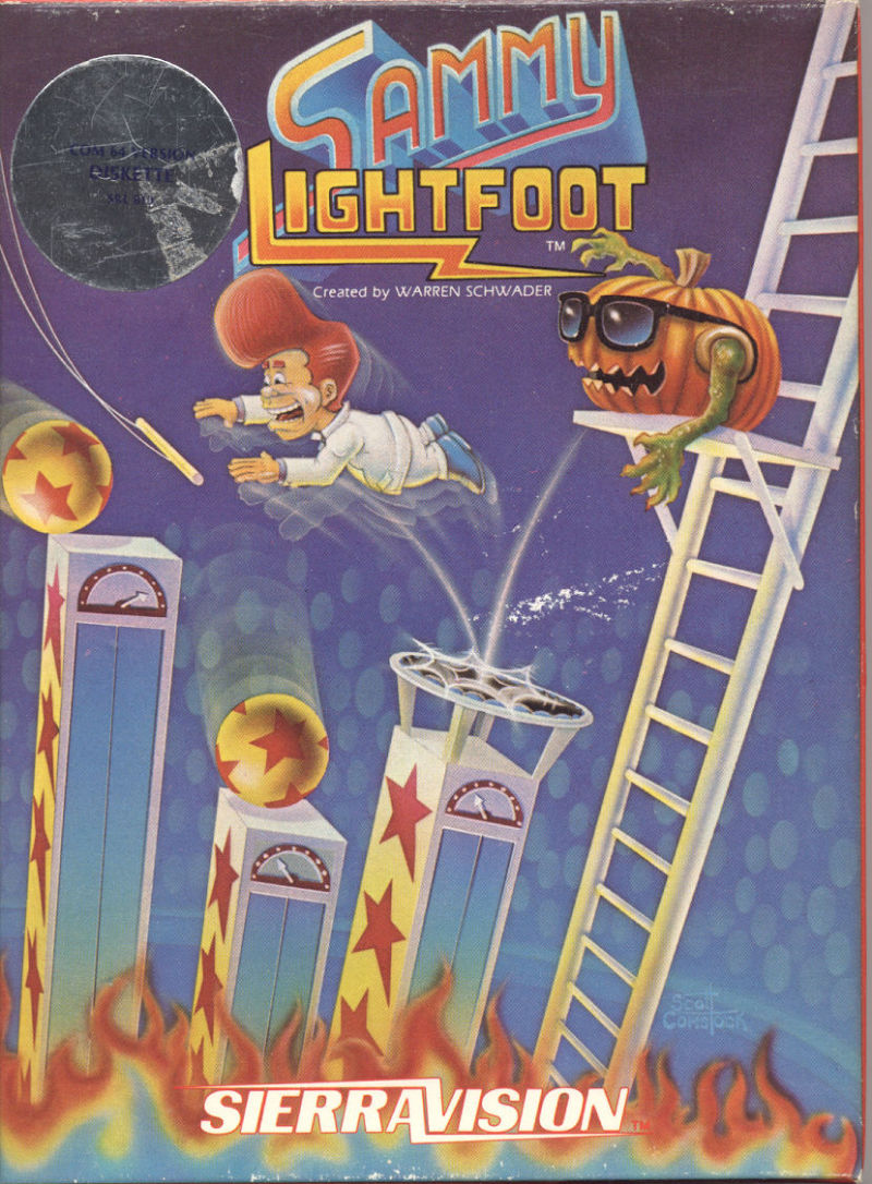 Sammy Lightfoot Commodore 64 Front Cover
