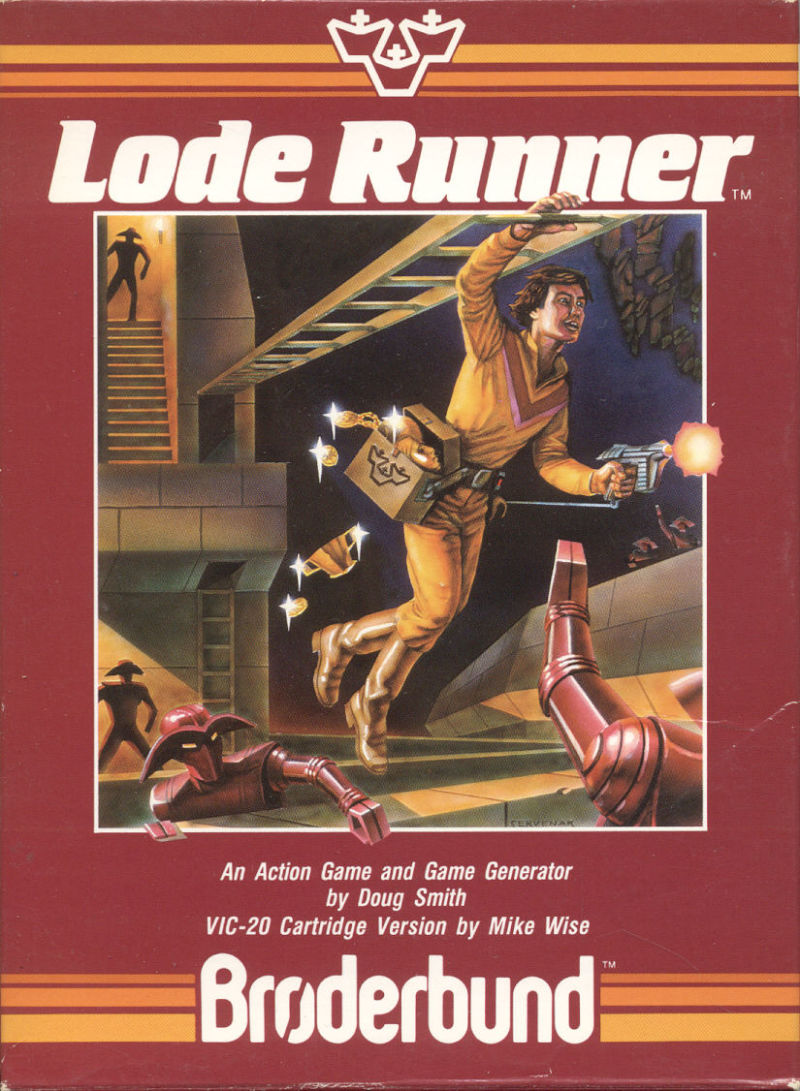 Lode Runner VIC-20 Front Cover