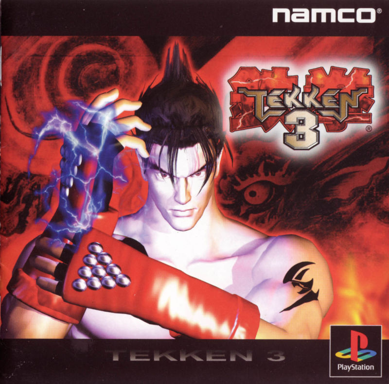 Tekken 3 PlayStation Front Cover