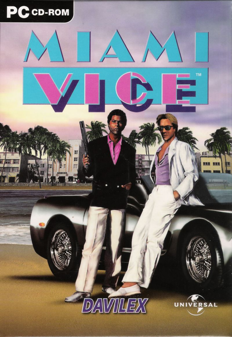 Miami Vice Windows Front Cover
