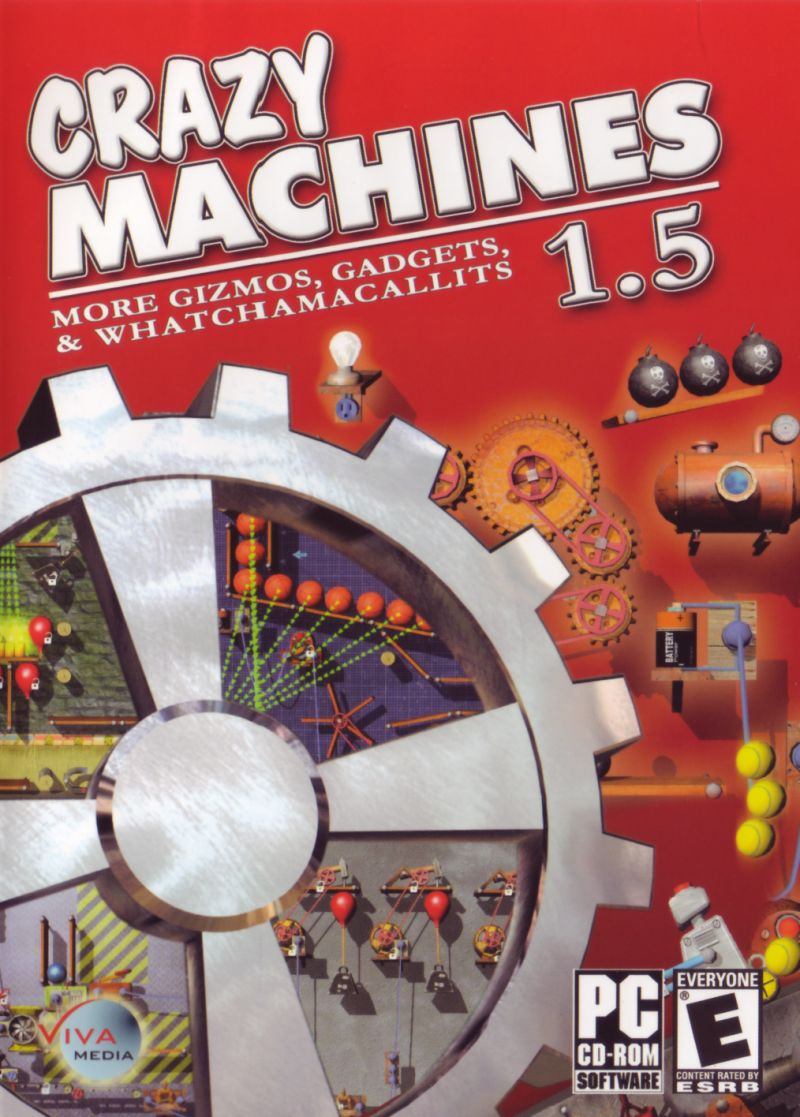 Crazy Machines 1.5: More Gizmos, Gadgets, & Whatchamacallits Windows Front Cover
