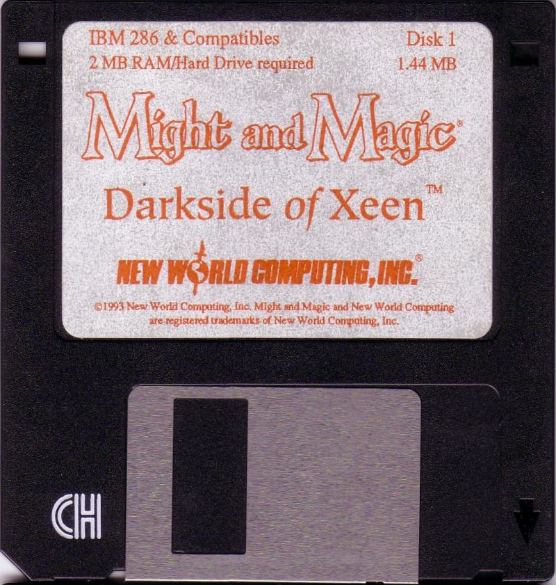 Might and Magic: Darkside of Xeen DOS Media Disk 1/8