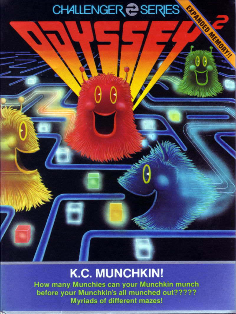 K.C. Munchkin! Odyssey 2 Front Cover
